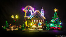 LIGHT MY BRICKS - LED Light kit for Lego Winter Toy Shop set 10249 Christmas