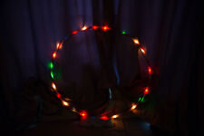 LED hula hoop MULTICOLOUR 90cm diameter Performance Hoop Sports Loose Weight