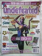 UNDEFEATED #7 (2004) Vs. System/Yu-Gi-Oh!/Settlers Of Catan/Magic/D&D • Mint!
