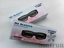 [Sintron] 2X 3D Active glasses for EPSON TW-5910 TW-6100 TW-6100W projector ,RF.