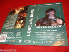 Locandina vhs LOVE IS THE DEVIL (1999) -  Lucky Red Video - originale - used