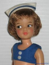 Vintage Ideal 1965 Pos'n Pepper Doll In Sailor Outfit Tammy's Little Sister