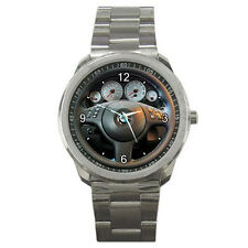 New BMW E46 M3 Steering Wheel Style Sport Metal Watch