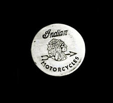 INDIAN MOTORCYCLES ROUND VEST PIN MADE IN THE USA