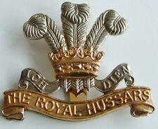 THE ROYAL HUSSARS CLASSIC  REGIMENTAL  CAP BADGE