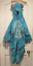Disney Pixar Sully Costume Monster's Inc Faux Fur fuzzy costume