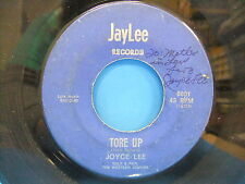 Joyce Lee Tore Up / I Still Love You 1966 Signed 45 Jay Lee 6601 Rockabilly
