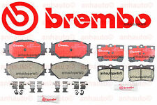 Brembo   Front and Rear Ceramic Disc Brake Pads  for Lexus IS250