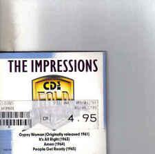 The Impressions-Gypsy Woman 3 inch cd maxi single