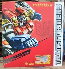 TRANSFORMERS 2014 Horse Year STARSCREAM Platinum Edition FIGURE