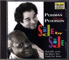Itzhak PERLMAN & Oscar PETERSON: SIDE BY SIDE Dark Eyes Blue Skies Telarc CD