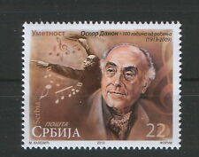 SERBIA-MNH**- STAMP- OSKAR DANON, COMPOSERS AND CONDUCTOR-2013.