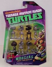 new Nickelodeon 2013 TMNT M.O.U.S.E.R.S. action figure 7 pack Ninja Turtles