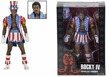 "NECA ROCKY 40TH ANNIVERSARY SERIES 2 APOLLO CREED 7"" ACTION FIGURE STARS STRIPES"
