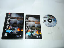 DESTRUCTION DERBY complete in longbox with manual NTSC PS1 playstation game