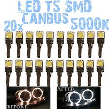 N° 20 LED T5 5000K CANBUS SMD 5050 Koplampen Angel Eyes DEPO FK VW Golf MK3 1D2