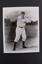 BILL DICKEY NEW YORK YANKEES HOF ALL STAR SIGNED AUTOGRAPH 8x10 PICTURE COA S13