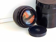 JUPITER-9 2/85 mm EXPORT BLACK Edition Soviet SLR lens (Pentax, Zenit) M42 AS IS