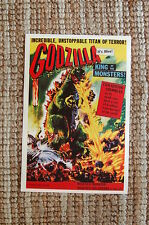 Godzilla Lobby Card Movie Poster King of the Monsters