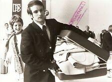 Original press photo coupe du monde 1970 allemagne de l'ouest wolfgang overath 14.5.70
