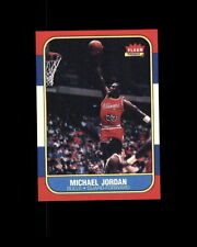 1986-87 FLEER  #57 MICHAEL JORDAN ROOKIE REPRINT*