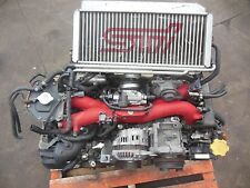 JDM 2002 WRX STi EJ207 Engine  STI Version 7 Engine GDB STI EJ207 EJ20 V-7 Motor