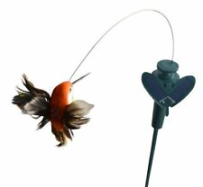 Solar Fluttering Hummingbird,Feather Wings Tail,Solar Powered or Battery Powered