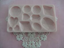 Mix of diamonds silicone mold fondant cake decorating APPROVED FOR FOOD