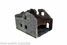 WWS  WWI, WWII Scenery/Terrain, Ruin Ruined Building Model Farm House RBK1 R21
