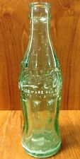 COCA COLA GLASS BOTTLE GREEN GLASS 6 1/2 OZ SOMERSET KY