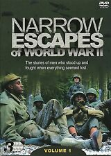 NARROW ESCAPES OF WORLD WAR II VOLUME 1 - 3 DVD BOX SET