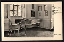 C. 1950s View of the harpsichord in the Queen's drawing room, Kew Palace