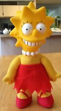 "Marge Simpson Doll, Vintage, 8"" Tall, Cloth Body And Plastic Head"