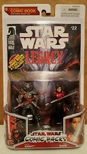 Star Wars Legacy Collection Comic Packs Darth Krayt and Sigel Dare
