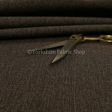 Quality New Plain Weave Textured Chenille Upholstery Sofas Interior Fabric Brown