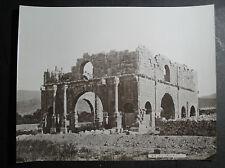 antique old PHOTO LEROUX LAMBESSA RUINS ARCHITECTURE AFRICA  ALGERIA ALGER
