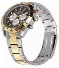 Rotary GB03429/20 Men's Two-Tone Chronography Bracelet Watch. 474