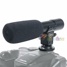 MIC-01 Digital Video Camera Pro Studio DV Stereo Microphone Mic For DSLR Camera