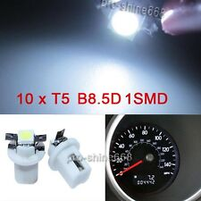 White 10X T5 B8.5D Car 5050 LED Speedo Dashboard Dash Wedge Side Light bulb