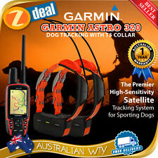 GARMIN ASTRO 320 GPS DOG TRACKING BUNDLE COMBO + 2 X T5 / DC50 DC-50 COLLAR