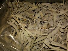 CALIFORNIA  WHITE SAGE LOOSE LEAFS (1) POUND PACKAGE