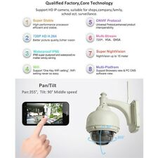 IP Camera Dome IR Night Vision 720P Wireless WiFi IR-Cut Outdoor Security YR