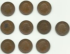 Pays Bas Netherlands Niederlande Reine Juliana Queen Konigin 10 Pieces 5 Cents