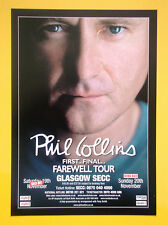 Phil Collins Glasgow SECC Nov 2005 A5 tour flyer - MINT...ideal for framing!