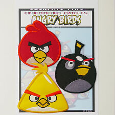 """ANGRY BIRDS"" Game Patches Iron-On Patch Super Set #045 - FREE POST"