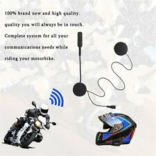 MH01 Wireless Bluetooth Motorcycle Helmet Handsfree CSR Motorcycle Headsets SM