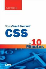 Sams Teach Yourself CSS in 10 Minutes Weakley, Russ Paperback