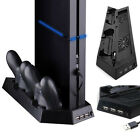 Vertical Stand Cooling Station 2 Controller Charging Dock for Sony Playstation 4