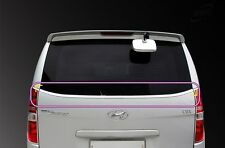 Chrome Rear Tail Glass Molding:2p fit Hyundai Grand Starex/i800/iMAX/H1 08~15