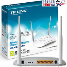 TP-LINK MODEM ADSL2+ e ROUTER WIRELESS N 300Mbps, 2 antenne, QSS, TD-W8961ND